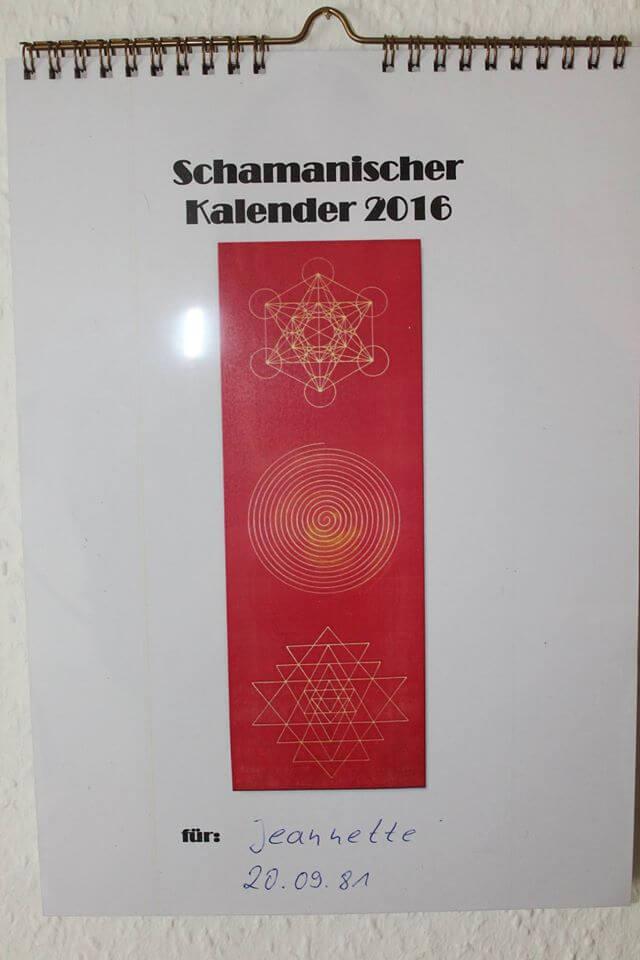 schamanischer Kalender_Vorn